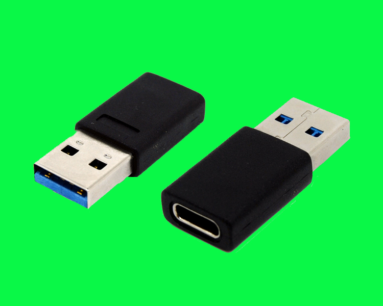 USB TYPE CM TO USB 3.0 AM转接头180D